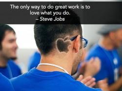 Inspiring Quotes - Steve Jobs