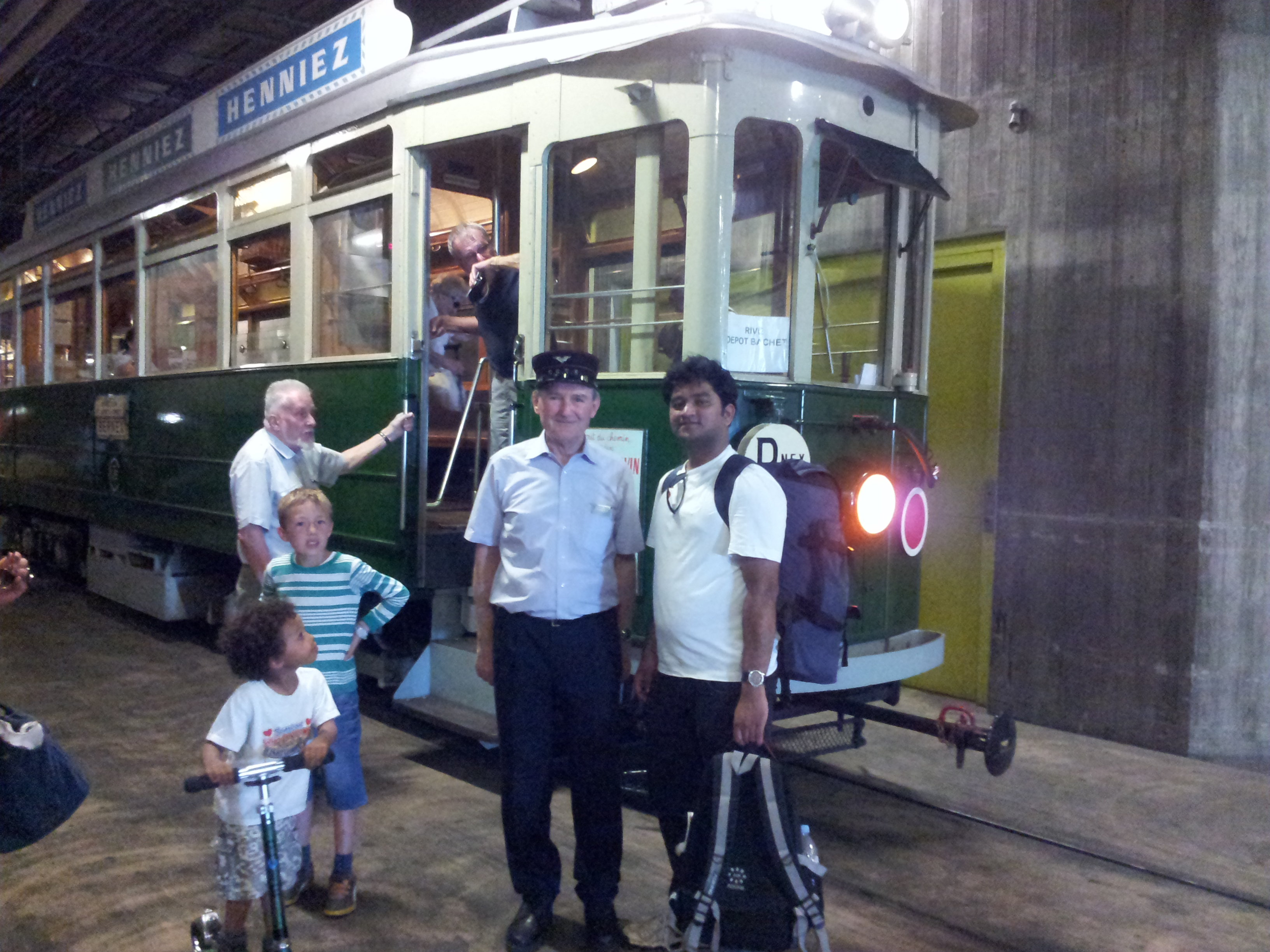 150th Anniversary of Tram Service, Geneva, Switzerland